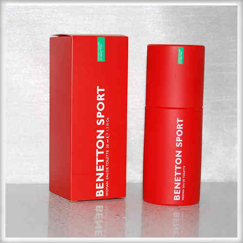 Sport Woman von Benetton - Eau de Toilette Vapo EdT 50 ml