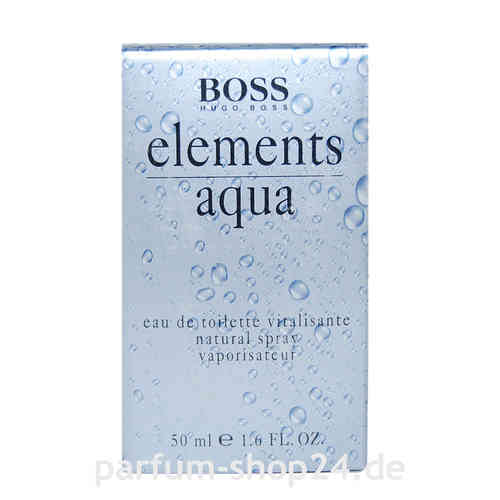 Elements Aqua von Hugo Boss - Eau de Toilette Vapo EdT 50 ml *** Rarität ***
