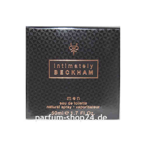 Intimately Men von David Beckham - Eau de Toilette Vapo EdT 50 ml