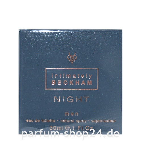Intimately Night Men von David Beckham - Eau de Toilette Vapo EdT 30 ml *** Rarität ***