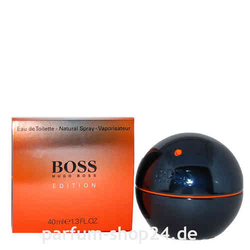 Boss in Motion schwarz Black Edition von Hugo Boss - Eau de Toilette Vapo EdT 40 ml *** Rarität ***