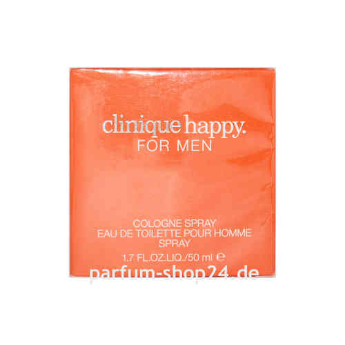 Happy for Men von Clinique - Eau de Toilette Vapo EdC 50 ml