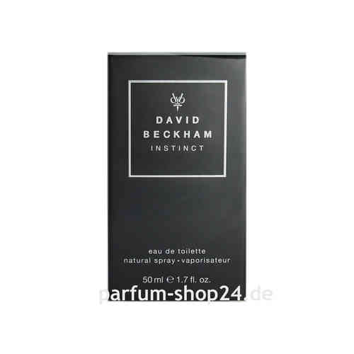 Instinct von David Beckham - Eau de Toilette Vapo EdT 50 ml