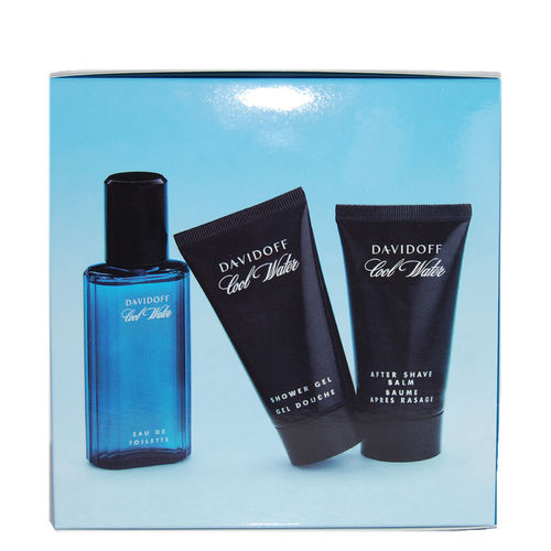 Davidoff Cool Water Geschenk-Set - Eau de Toilette Spray EdT 40 ml