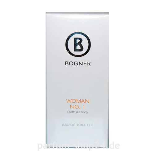 Woman NO. 1 von Bogner – Eau de Toilette Spray EdT 50 ml *** Rarität ***