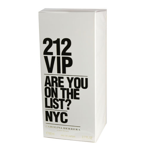 212 VIP von Carolina Herrera – Eau de Parfum Spray EdP 80 ml