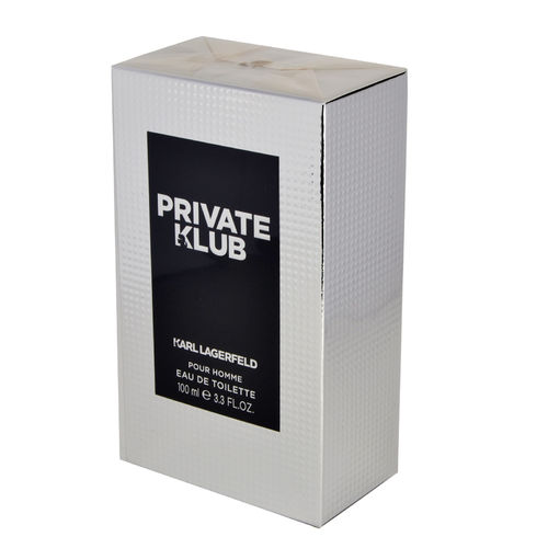 Private Klub pour Homme von Lagerfeld –  Eau de Toilette Spray EdT 100 ml