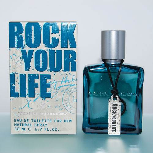Tom Tailor Rock your Life for Him - Eau de Toilette Spray EdT 50 ml *** Rarität ***