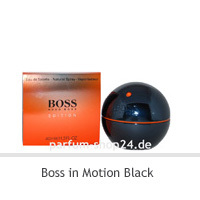 Boss in Motion Black   -  EdT